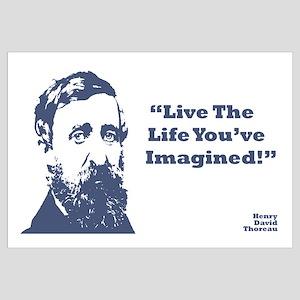 Thoreau - Life Wall Art