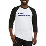 A is for Anacostia River Baseball Jersey