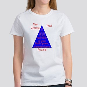 New Zealand Food Pyramid Women's T-Shirt
