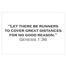 Runner / Genesis Wall Art Poster