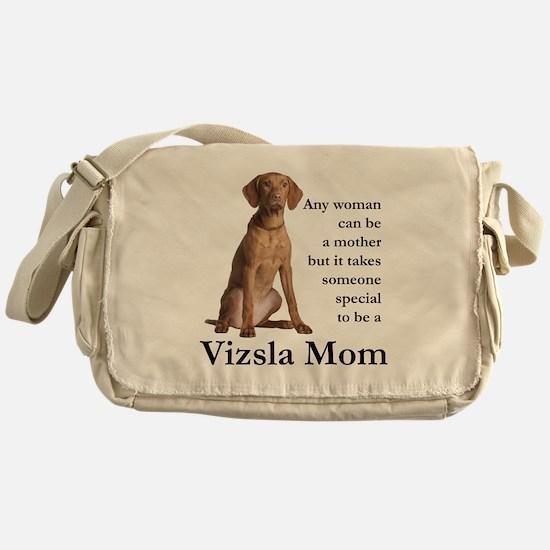 Vizsla Mom Messenger Bag