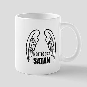 Not Today Satan Mugs