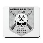 Zombie Response Team: Jackson Division Mousepad