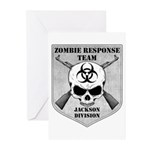 Zombie Response Team: Jackson Division Greeting Ca