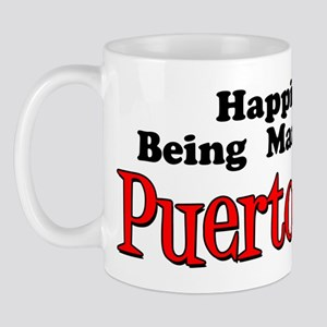 Happiness Married Puerto Rican Mug