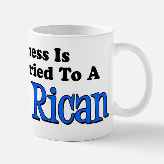 Happiness Married Puerto Rican Mug