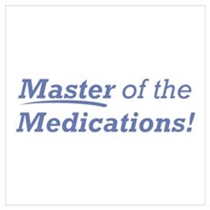 Medications / Master Wall Art Poster
