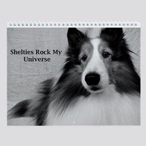 Shelties Rock My Universe Wall Calendar