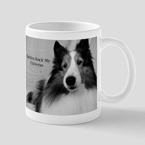 Shelties Rock My Universe Mug
