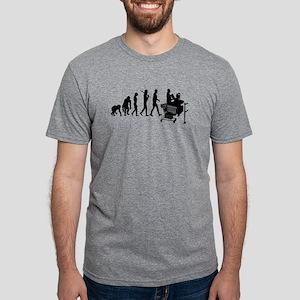 Supermarket Cashier Mens Tri-blend T-Shirts