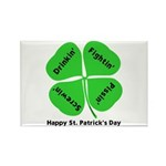 St. Patrick's Day Irish Gear Rectangle Magnet (100