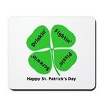 St. Patrick's Day Irish Gear Mousepad