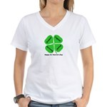 St. Patrick's Day Irish Gear Women's V-Neck T-Shir