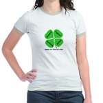 St. Patrick's Day Irish Gear Jr. Ringer T-Shirt