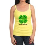 St. Patrick's Day Irish Gear Jr. Spaghetti Tank