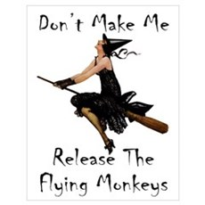 Release the Flying Monkeys Wall Art Poster