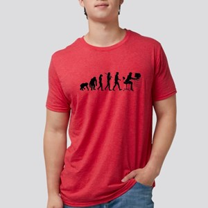 Business Woman Mens Tri-blend T-Shirts
