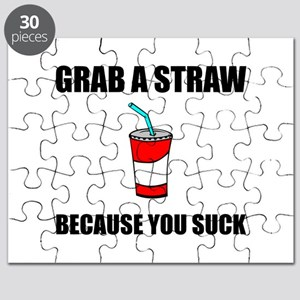 Grab Straw You Suck Puzzle