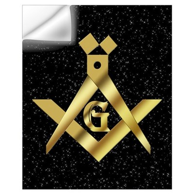 Masonic Master in the sky Wall Art Wall Decal