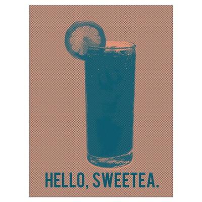 Hello, Sweetea. Wall Art Poster