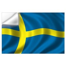 Flag of Sweden Wall Art Wall Decal