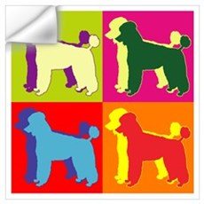 Poodle Silhouette Pop Art Wall Art Wall Decal
