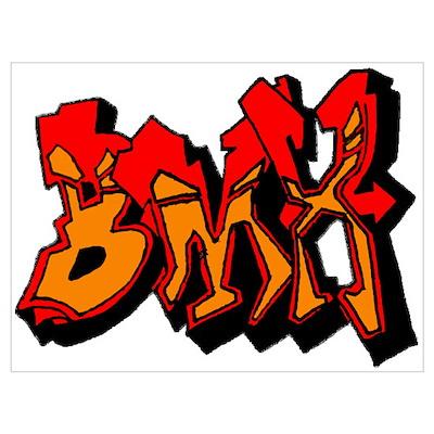 BMX Wall Art Poster