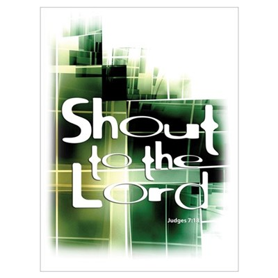 Shout to the Lord Wall Art Framed Print