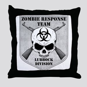 Zombie Response Team: Lubbock Division Throw Pillo