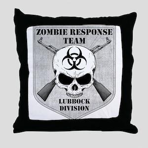 Zombie Response Team: Lubbock Division Throw Pillo