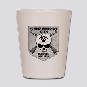 Zombie Response Team: Lubbock Division Shot Glass