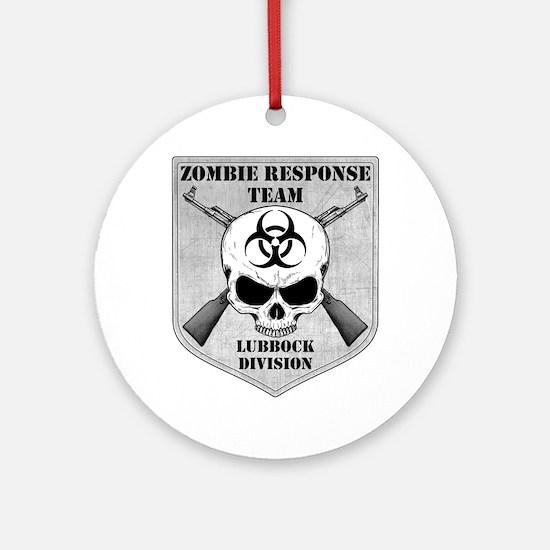 Zombie Response Team: Lubbock Division Ornament (R