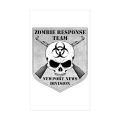 Zombie Response Team: Newport News Division Sticke