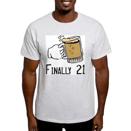 Finally 21 Light T-Shirt