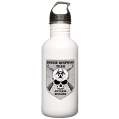 Zombie Response Team: Ontario Division Water Bottle
