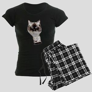 Ragdoll Caricature Women's Dark Pajamas