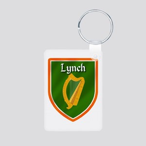 Lynch Family Crest Aluminum Photo Keychain