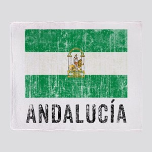 Vintage Andalusia Throw Blanket