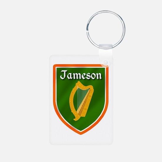Jameson Family Crest Aluminum Photo Keychain
