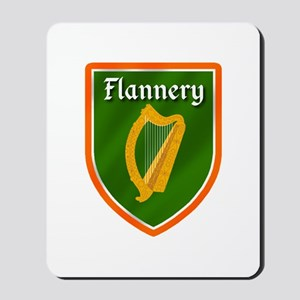Flannery Family Crest Mousepad