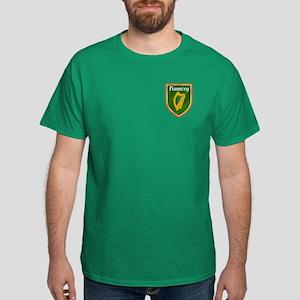 Flannery Family Crest Dark T-Shirt