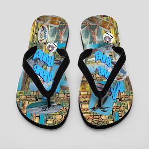 Wave Ryder Flip Flops