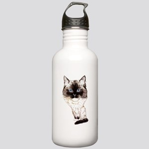 Ragdoll Caricature Stainless Water Bottle 1.0L