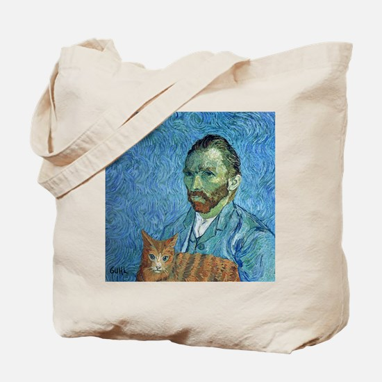 Vincent's Cat Tote Bag