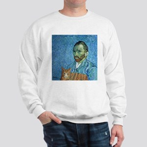 Vincent's Cat Sweatshirt