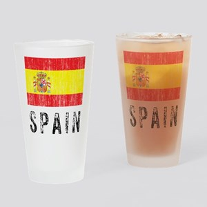Vintage Spain Drinking Glass
