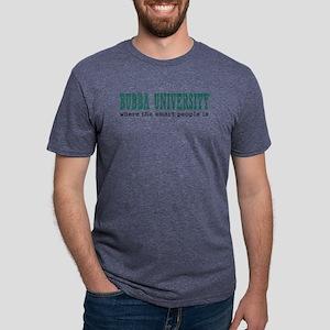 Bubba University Mens Tri-blend T-Shirts