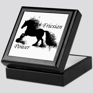 Friesian Power Keepsake Box