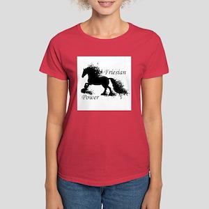 Friesian Power Women's Dark T-Shirt