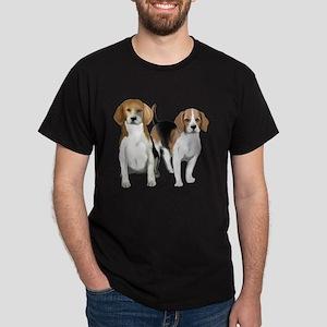Two Beagles Dark T-Shirt